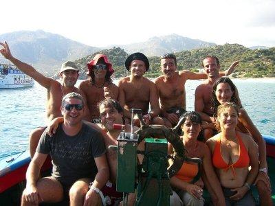 Escursione in barca a Villasimius di una giornata