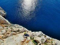 escalade à la mer