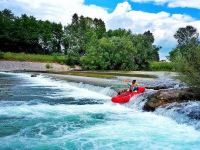 Kayak sul fiume Sieve 2 ore 30