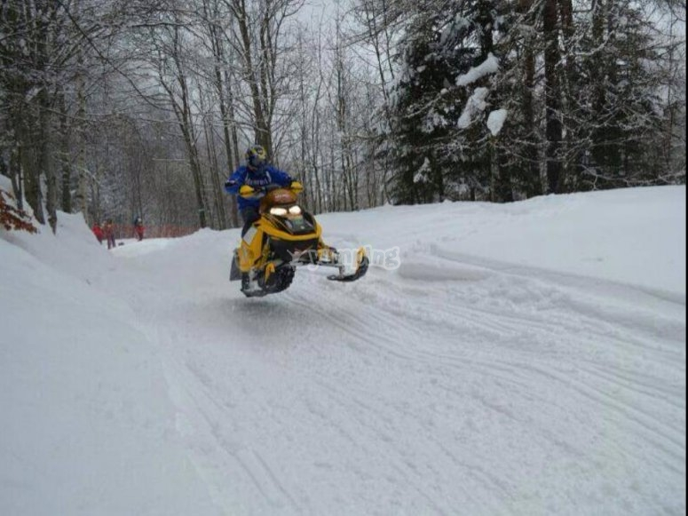 come and have fun in the snow