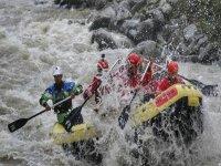 Rafting adrenalinico