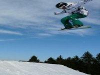 Salto in snow!