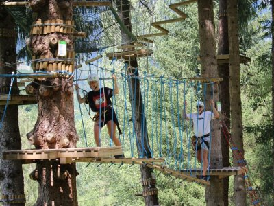 Adventure park in Caldes for 2 hours