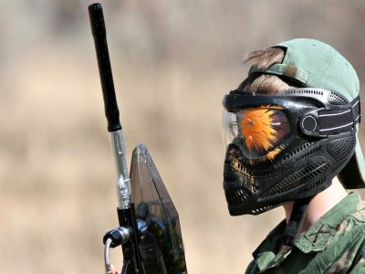 Paintball for children in North Rome 1 hour