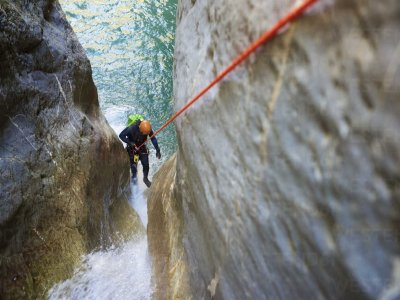 Canyoning in the Trentino Dolomites for 3 hours