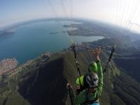 Volo in parapendio sul lago di Garda 2 ore