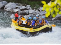 Rafting in the Noce River for 2 hours and 30 minutes