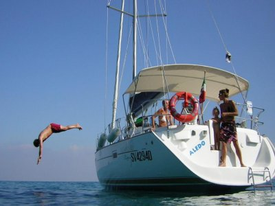 Escursione in barca per bambini Finale Ligure 8ore
