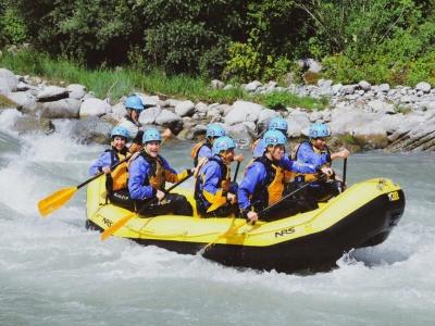 Rafting per esperti sul fiume Noce di 3 ore e 30