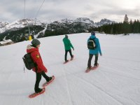 Snowshoe hike in the Brenta Dolomites for 3 hours