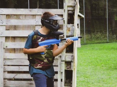 Paintball for children in Val di Sole 1 hour