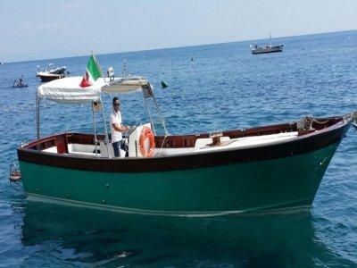 7-hour boat tour on the Amalfi Coast