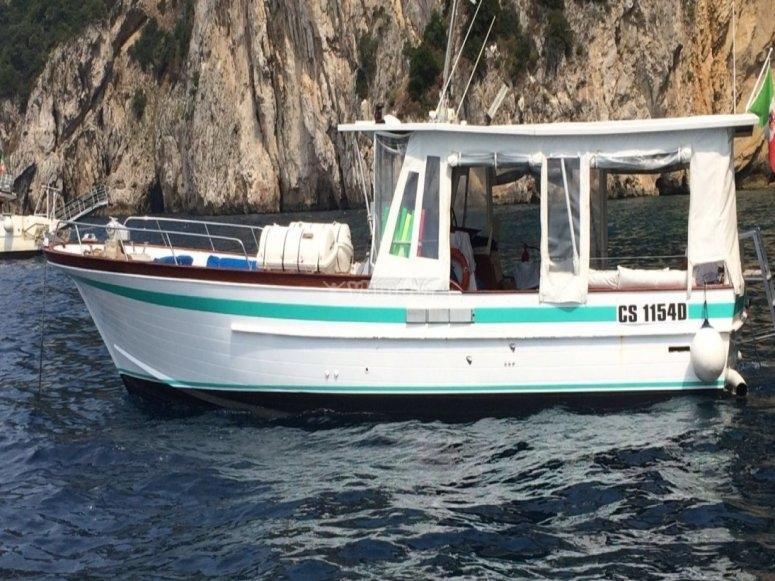 The boat Donna Assunta