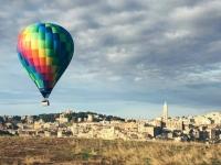 mongolfiera a Matera