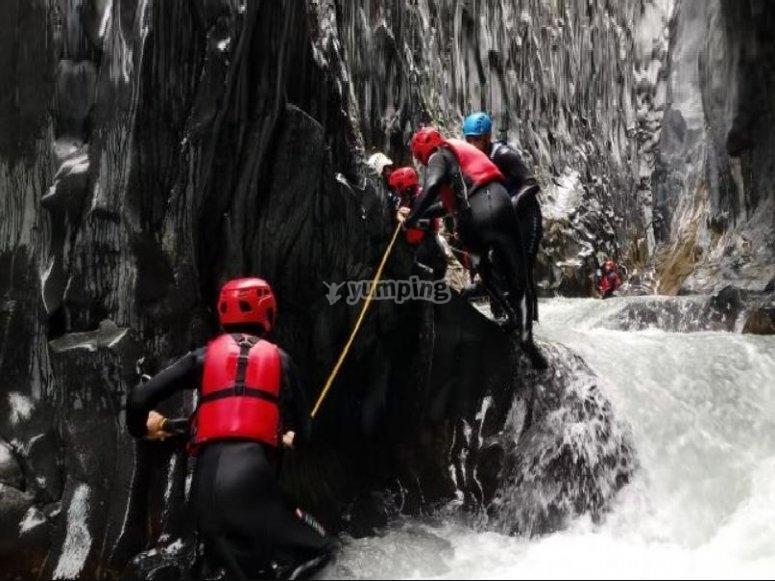 sport fluviale all' alcantara