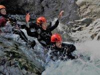 Body canyoning nella valle Alcantara di 2 ore
