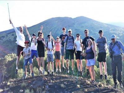 Trekking sull'Etna e Alcantara 8 ore