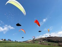 Paragliding flight to Lake Iseo of 20 minutes