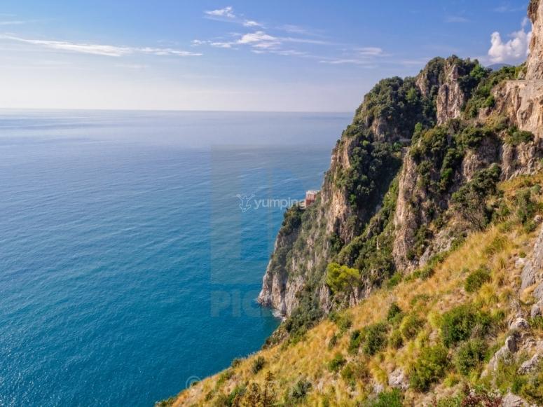 Coast of the Tyrrhenian Sea.