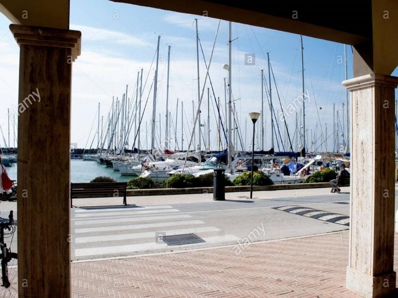 The port of Ostia.
