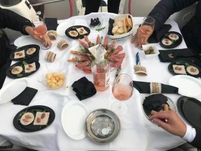 Sailing and wine tasting in Ostia