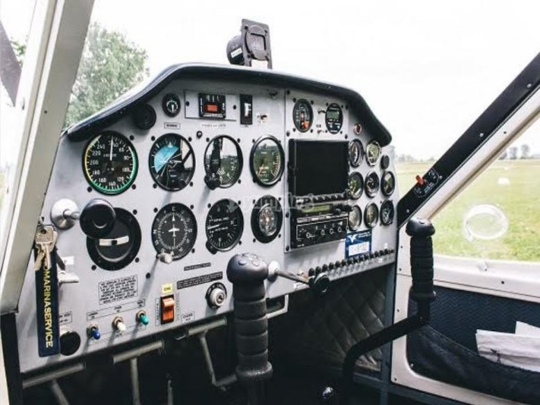 Controls in the cabin