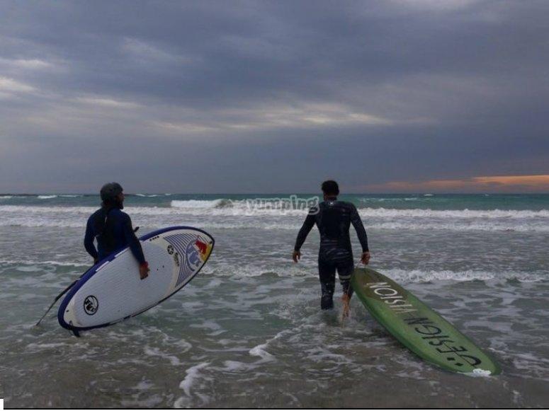 Surf avec vue