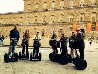 Tutti col Segway a vedere Palazzo Pitti