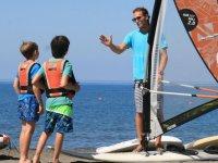 Windsurf for children