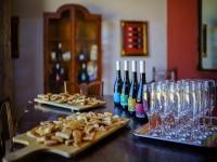 The tasting room