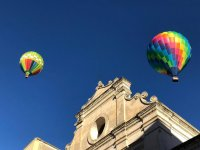 over the church of Gravina