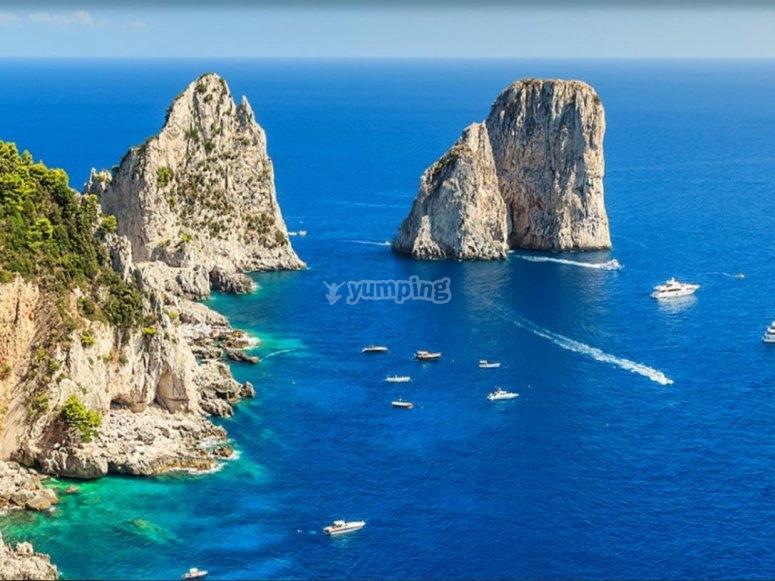la ebllissima Capri