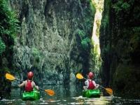 In canoa alla scoperta dei Canyon