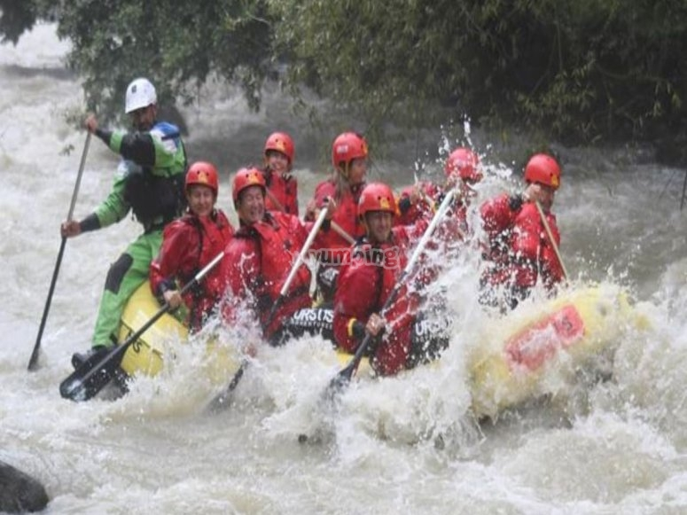 Rafting in compagnia