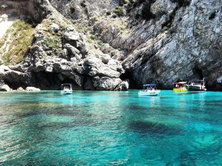 the sea caves of the coast