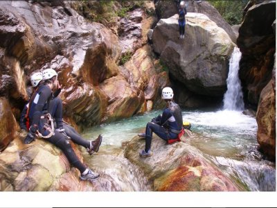 Canyoning a Rio Selvano di 4 ore
