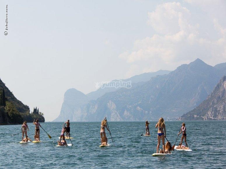 SUP sul Lago di Garda