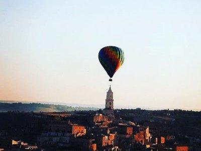 Terra di Gravine balloon flight 1 hour