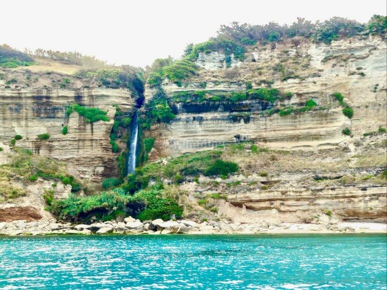 pirate waterfall
