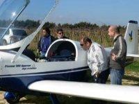 Controllando l'aereo