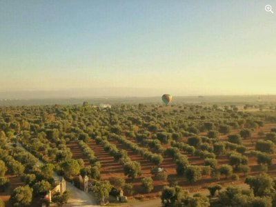 Volo mongolfiera a Valle D'Itria 1 ora