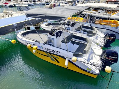 4-hour boat rental in Tropea