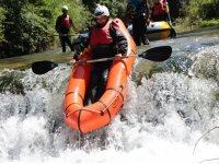 Packrafting in Val di Lima di 3 ore