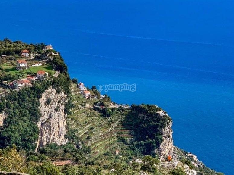 Amalfi coast landscapes