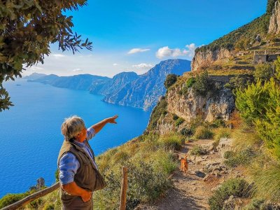 Private tour Path of the Gods Agerola 3H30