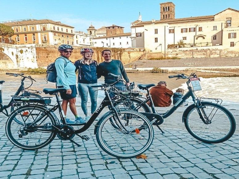 In e-bike a Roma