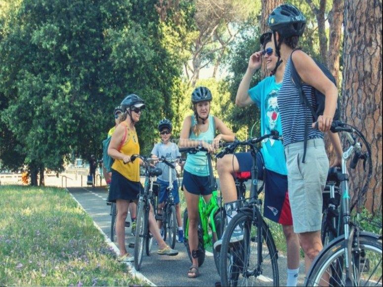 Tour in e-bike