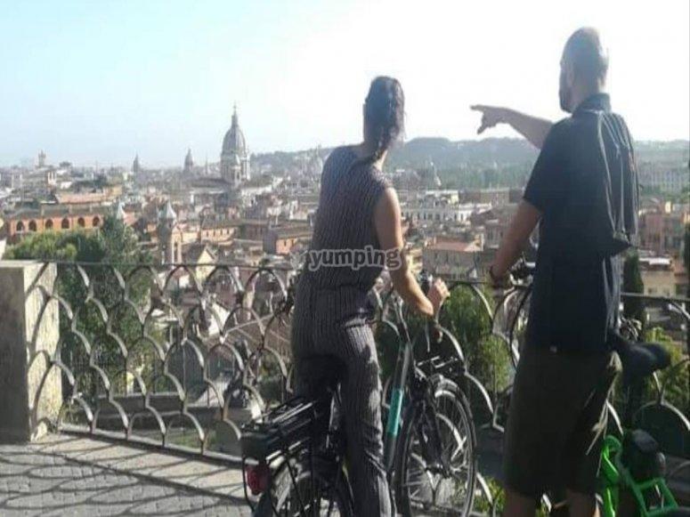 E-bike a Roma