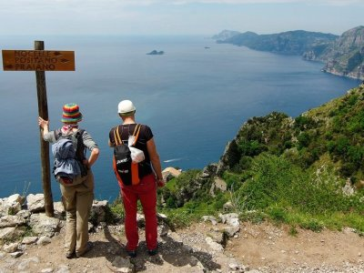 Shared tour Path of the Gods Agerola 3H30