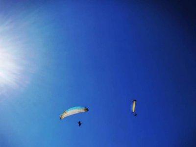 Volo parapendio su monte San Biagio con video 1h30